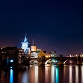 Charles Bridge from a different perspective