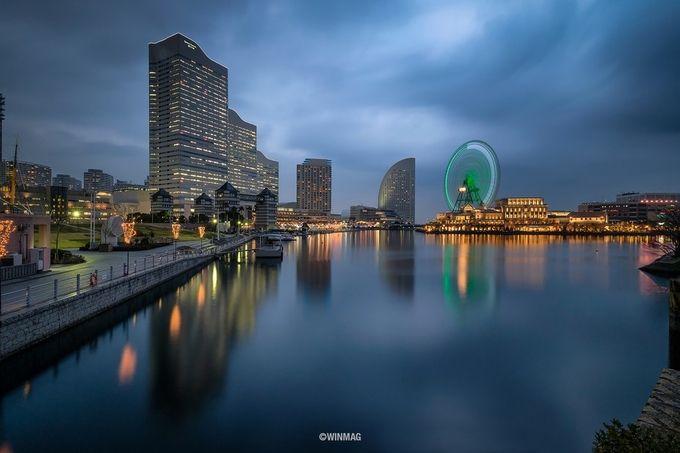 Minato Mirai 21 by winmagsino - City In The Night Photo Contest