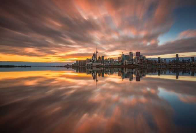 Toronto Sunset by MarvinEvasco17 - Cities By The Water Photo Contest
