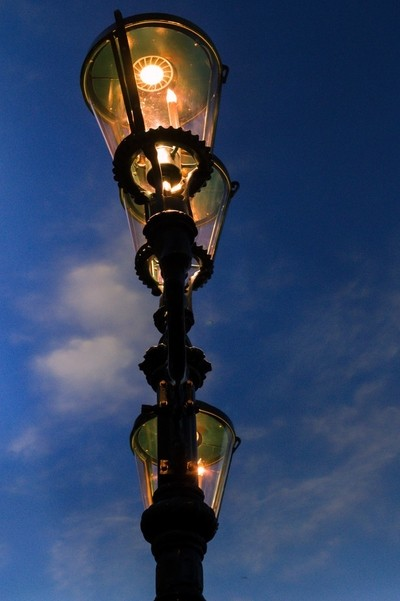 Street Light at the Venetian Grand Canal