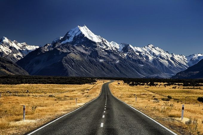 Mount Cook by Stephen-Blake-Photography - A Road Trip Photo Contest