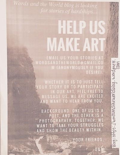 WatW Project Flyer (Please Read Description)