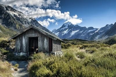 Mt. Cook Hut