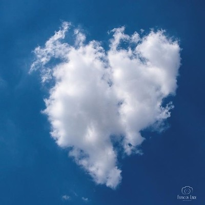 #heart❤️ shaped #clouds #southafricanskies #love #romance