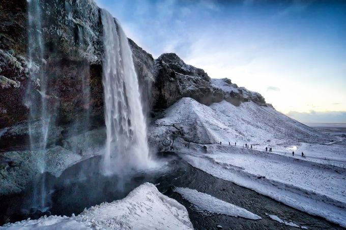 waterfall iceland by angiesimpson - Capture The Four Elements Photo Contest