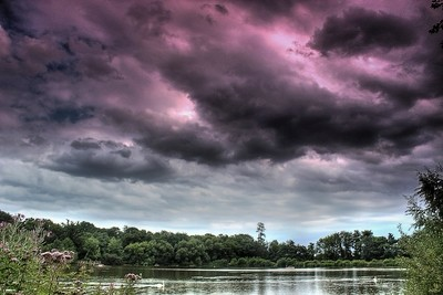Stormy Sky at Hatfield Forest