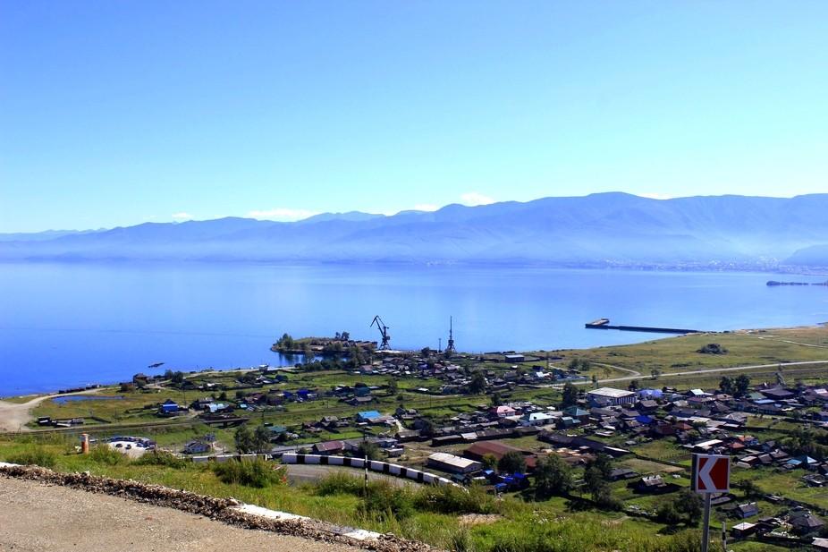 This photo was made on Lake Baikal, near Arshan