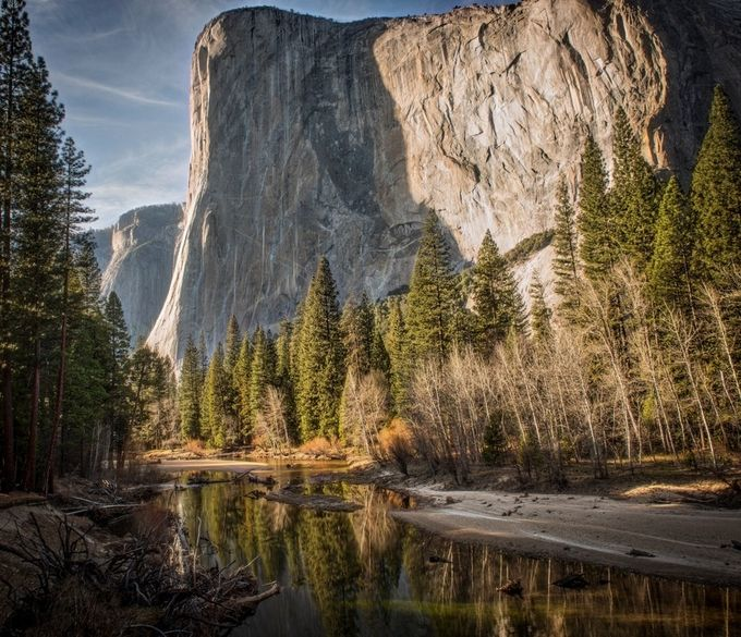 El Capitan in the afternoon by dffry - Spectacular Cliffs Photo Contest