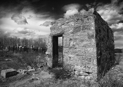 Miners Cemetery BW
