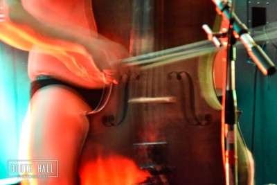 Punk Cello as played in underpants