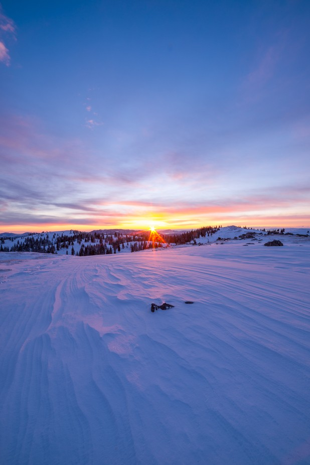 Velika Planina at sunrise by ZigaRadsel - Flares 101 Photo Contest