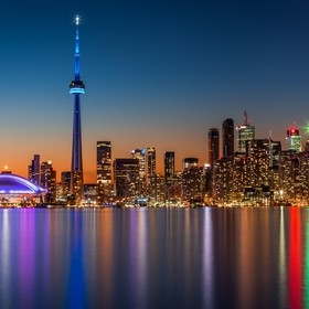 View of Toronto Canada