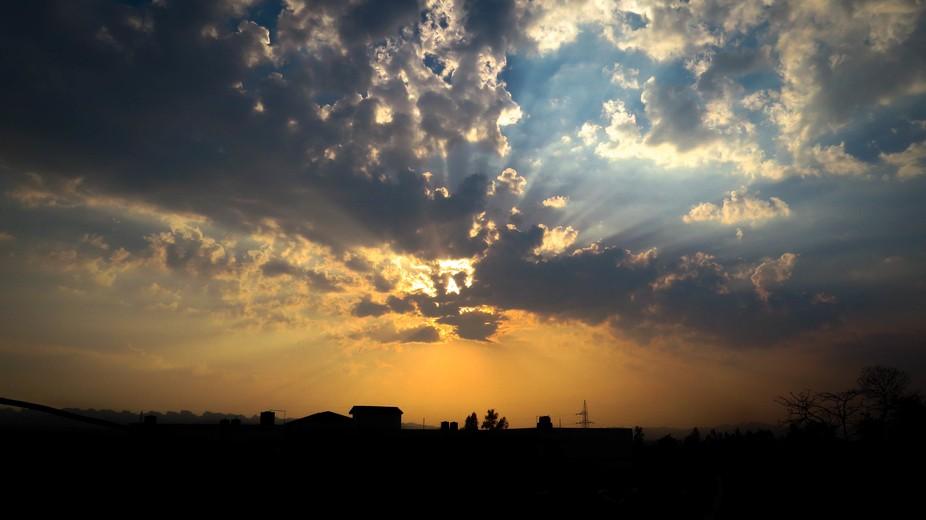 Sunset at Selaqui