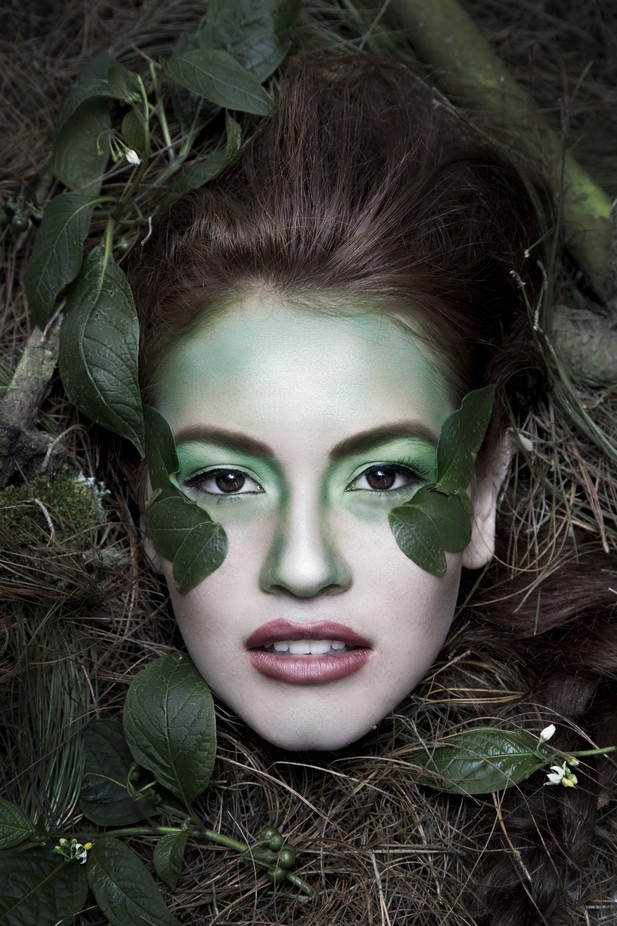 A Creative Gallery Using Paint And Makeup That Will Inspire You
