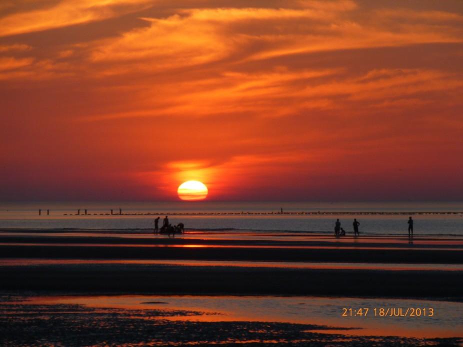 Sunset in Netherlands
