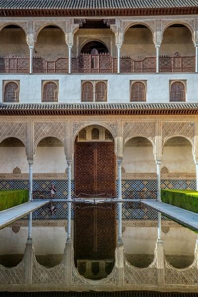 Alhambra Palace Reflections