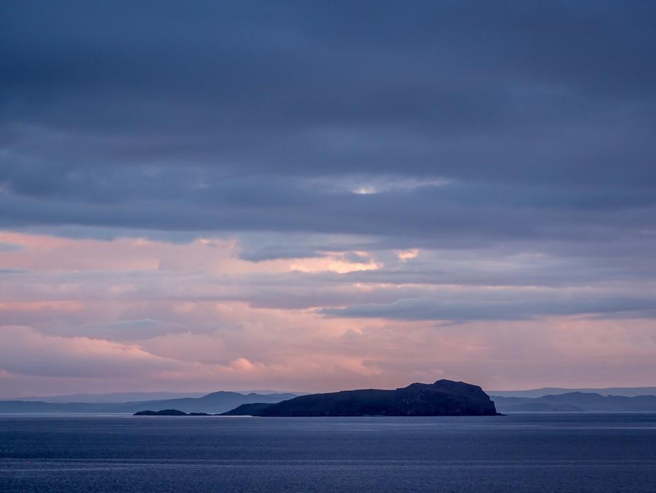 Scotland - Evening mood on the West Coast at Achiltibuie