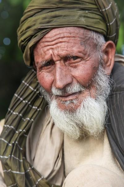Refugee Camp Elder