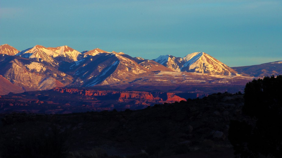 My family and I were in Moab Utah and this was my evening view. I had to capture it for others to...