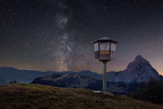 """Alpenblick"" by pixadeleon - Night Wonders Photo Contest"