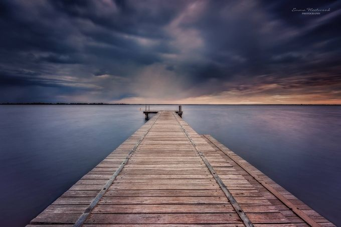 On the lake by emmafleetwood - Composition And Leading Lines Photo Contest