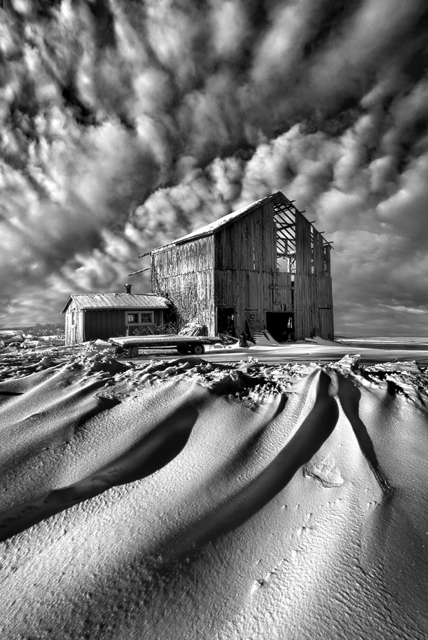 Those Were The Days by phil1 - Winter In Black And White Photo Contest
