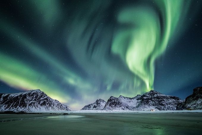 Lofoten - Poetry of the sky by vandabodoardo - Nature And The Night Photo Contest