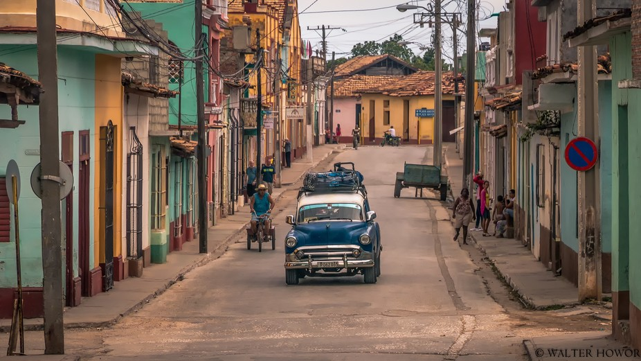 Cuba - One of the most photogenic countries I know. Beautiful colors, beautiful people, and beaut...