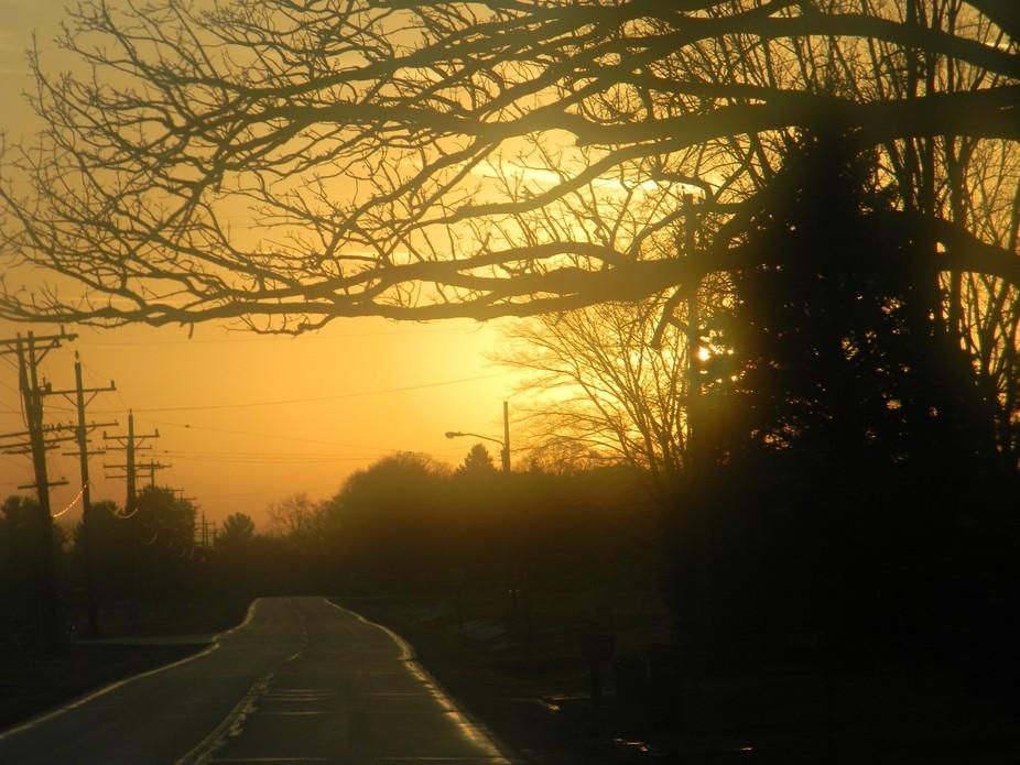 Sunset Dec 31st 4 35pm