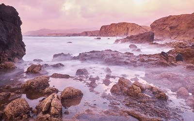 Magical sunsets of Canary Islands