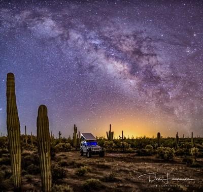 Jeep Ursa Minor Milky Way