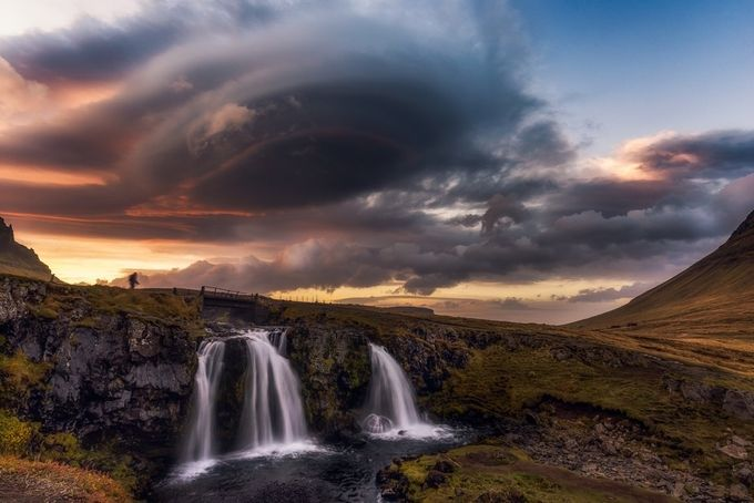 The Arrival by Vanexusphotography - Beautiful Waterfalls Photo Contest