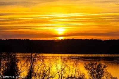 Sunrise at Jordan by LaMont L. Johnson_WM-5811