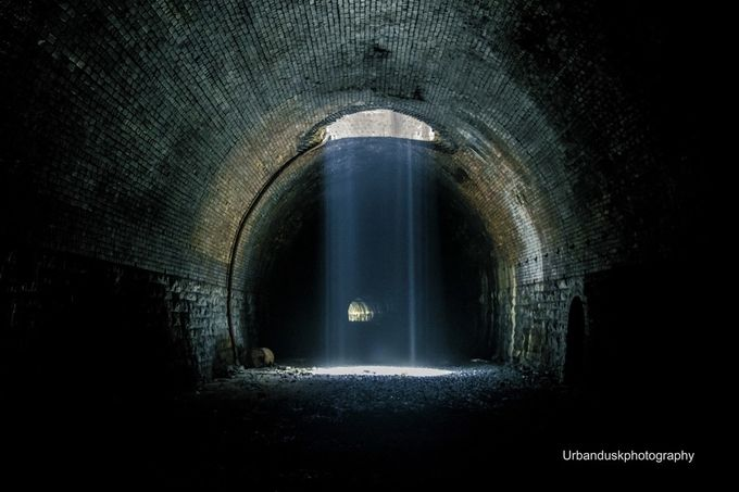 Tunnel Shower by Kevin-Griffiths - Shooting Tunnels Photo Contest