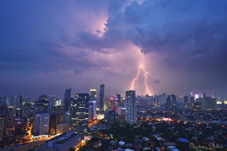 During summer there are plenty of thunder storms in the Philippines which provide me with many op...