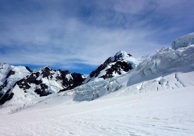Tasman Glacier. New Zealand.