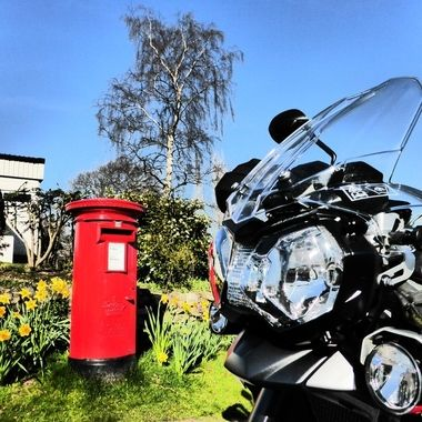 An excuse for a Run on the Bike to a Far away Post Box ... :-)