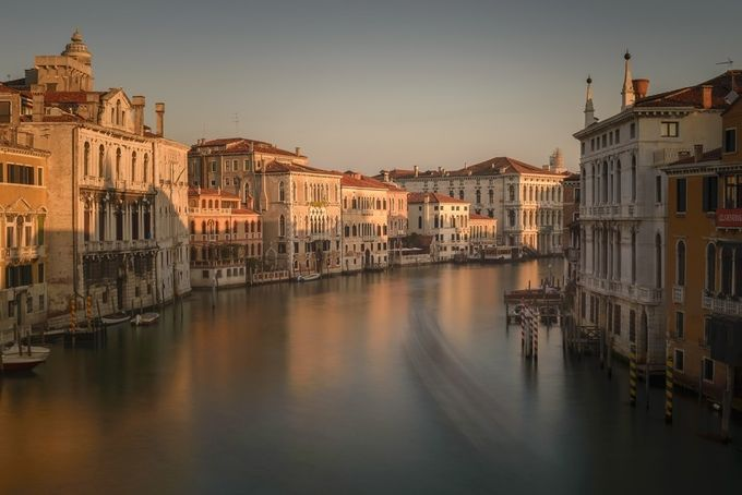 Along Canal Grande by guenther710 - Cities By The Water Photo Contest