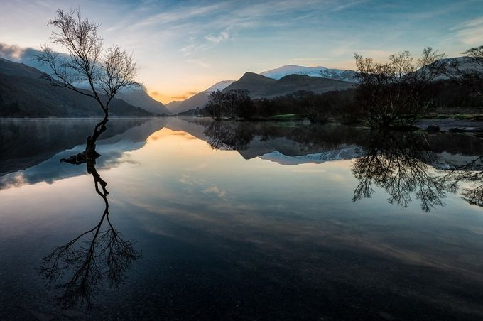 Padarn Mist by Bynack - Lakes And Reflections Photo Contest