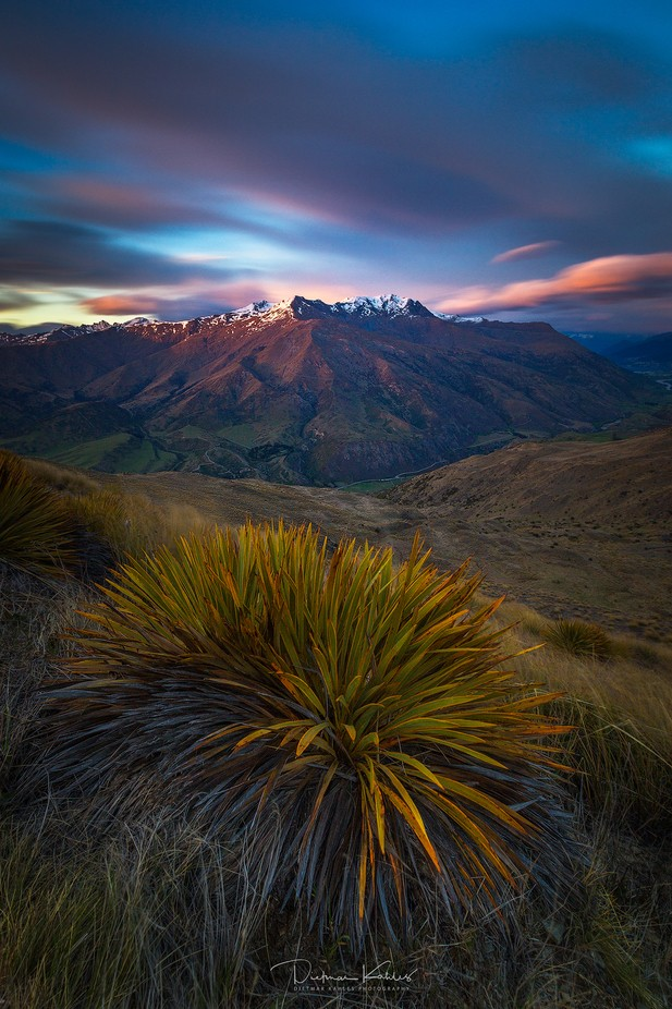 Dawn at the Crown Range by lake_of_tranquility - Strong Foregrounds Photo Contest