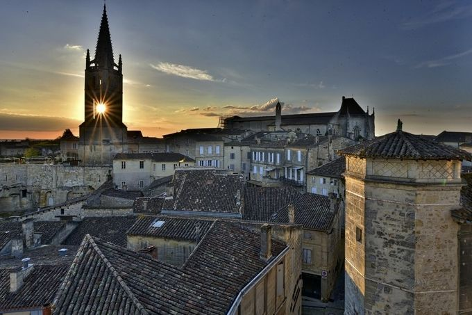 St Emilion Sunset by MiguelLecuona - Rooftops Photo Contest 2018