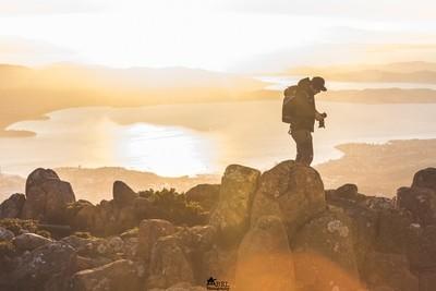 Sunrise on Mount Wellington