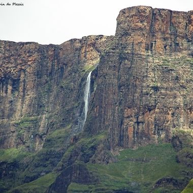 2nd highest waterfall in the world, the Tugela Falls, in the Northern Drakensberg.
