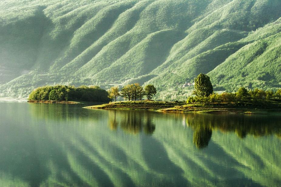 Rama lake is an artificial lake on the river Rama in Window-Rama.  Created in 1968. The maximum l...