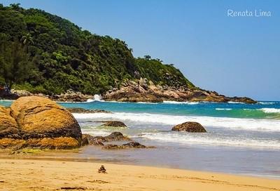 Beach in Santa Catarina/Brazil