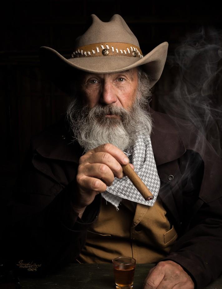 Cowboy Portrait by sjholbert - Male Portraits Photo Contest