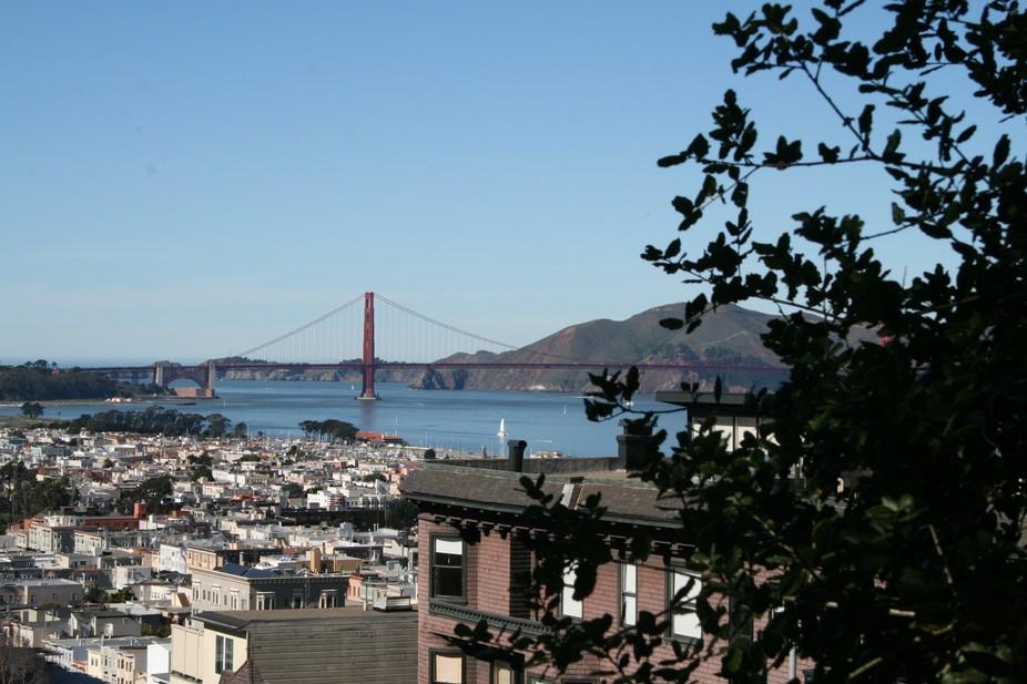 Walking through San Francisco.