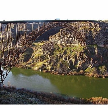 Taken on our scouting trip to Idaho in search of our new home we stopped in Twin Falls and visited this famous site on the Snake River called the Perrine Bridge.