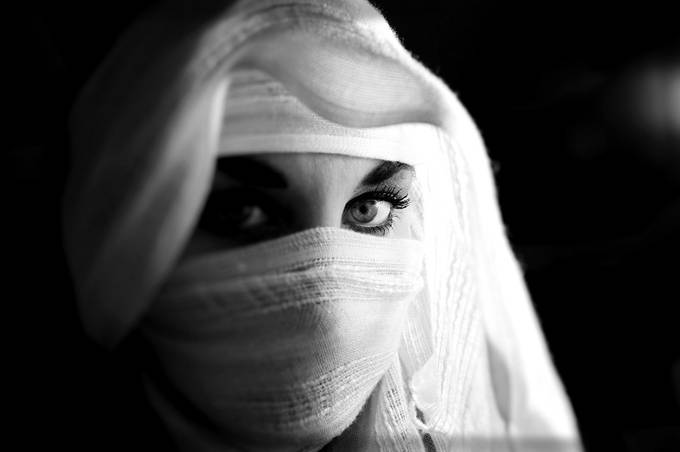 Ninja bw by jeanettesugar - The Fluid Self Photo Contest