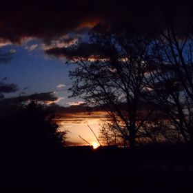 Sunset picture taken from our hilltop home in NW Tennessee.